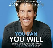 OSTEEN You Can, You Will: 8 Undeniable Qualities of Winner Unabridged CD *NEW*