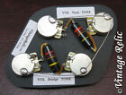 Upgrade Wiring Kit vintage 1950s Bumblebee Caps CTS fit Gibson Les Paul Historic