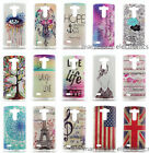 Various Patterns Slim PC Hard Phone Protector Back Case Cover Skin For LG G3 G4