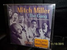 NEW SEALED MITCH MILLER THE GANG 50 ALL AMERICAN FAVORITES CD HTF BUYT IT