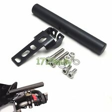 "7/8"" Motorcycle Cell Phone GPS Handle Bar Holder Extender Mount Clamp 22mm Black"