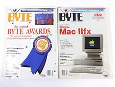 1990 BYTE - Vintage Computer Magazine Lot of 10 Issues - Grady Booch Collection