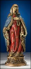 Immaculate Heart Of Mary Ornate Gold Brocade Statue Elegant Catholic Gift