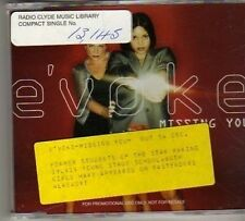 (BN439) E'Voke, Missing You - 1998 DJ CD