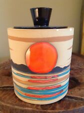 Studio Pottery Mary Cosco Signed Mid.century Lidded Jar Vase