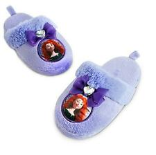 Disney Parks BRAVE Merida Soft Slippers Shoes Size 7/8 Girls Princess Gift NEW