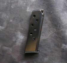 Walther PP PPK/S 380 acp Pistol 7-Round Magazine, Blue.