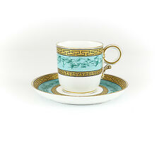 Royal Worcester for Tiffany & Co. Porcelain Demitasse Cup and Saucer. 19th Cen