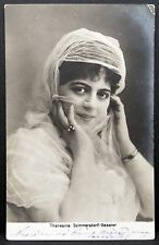 Theresina Sommerstorf Gessner AK Foto Autogramm-Karte Photo Postcard (Lot MA2321