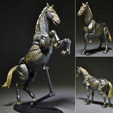 KT Project KT-007 Takeya Style Jizai Okimono Horse Iron Rust Look Revoltech JPN
