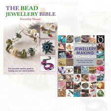 The Bead Jewellery Bible & Compendium Jewellery Making Techniques 2 Book Set NEW