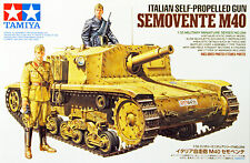 Tamiya 35294 Italian Self Propelled Gun Semovente M40 1/35 scale kit