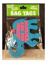Junk in My Trunk Elephant Design Funny Luggage or Bag Tags