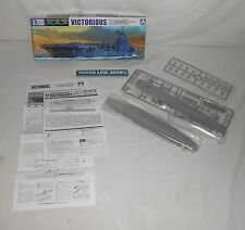 New Aoshima Water Line 1/700 Model Royal Navy Aircraft Carrier Victorious No 701