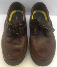 Timberland Echo Bay Boat Shoes Brown Made in Dominican Republic Men 9 M US 71026