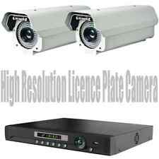 License Plate Reading Security Camera Long Distance Wireless CCTV System + DVR