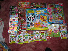 Moshi Monsters Bundle Mash up cards , stickers ,moshling mix up game,figures etc