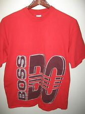 Boss By I.G. IG Design Vintage 1990's USA Urban Fashion Hip Hop Red T Shirt XLrg