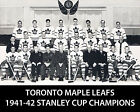 Maple Leafs 1941-42 Championship 8x10 team photo