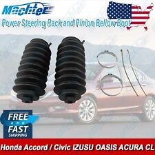 2 Power Steering Rack and Pinion Bellow Boots Honda Accord Civic ISUZU ACURA