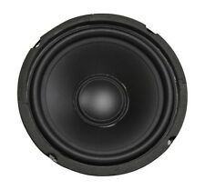"""6.5"""" Woofer Replacement PAIR Poly Cone Rubber Surround 50W 4ohm Home Car Audio"""