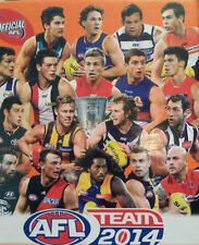 AFL 2014 teamcoach 3D FOOTY POINTERS football cards - singles team coach - SALE