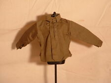 1/6 WW2 Dragon, British, Canadian Khaki Collared Shirt Half Button DID Monty