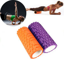 Massagerolle-Set Fitnessrolle Lagerungsrolle Therapierolle Orange + Lila SM 11
