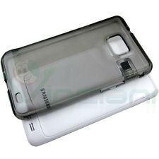 Custodia PERFECT FIT per Samsung Galaxy S2 i9100 e S2 Plus i9105 FUME' aderente