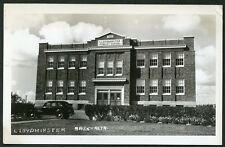 LLOYDMINSTER SASKATCHEWAN ALBERTA PUBLIC SCHOOL c1940 RPPC Photo Postcard