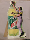 BRADY ANDERSON ORIOLES INDIANS 1998 MOUNTAIN DEW PROMOTION STAND UP SIGN