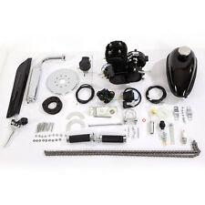 2 80cc Cycle Petrol Gas Engine Motor Kit for Motorized Bicycle Bike Black Body