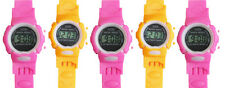 5Pcs Kids Sports Digital Wrist Watch Clock Children Watch Gift Child Boy Girl