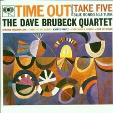 "DAVE QUARTET BRUBECK ""TIME OUT"" CD NEUWARE"