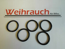 5 x Weihrauch HW45/Beeman P1 Breech/Barrel Seal O Ring part number 9077 / 1417