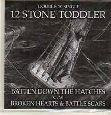 (BR735) 12 Stone Toddler, Batten Down The Hatches  - DJ CD