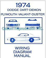 1974 Plymouth Valiant Duster Wiring Manual