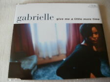 GABRIELLE - GIVE ME A LITTLE MORE TIME - UK CD SINGLE