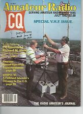 CQ Amateur Radio July 1982 Special V.H.F. Issue  Good Condition