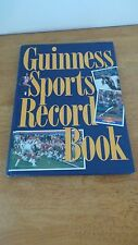 Vintage 1990 GUINNESS Sports Record Hardcover Book by Sterling  RARE