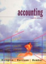 Accounting by Charles Horngren,Bamber,Harrison Good