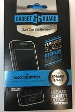 Gadget Guard Apple iPhone 7 Black Ice Tempered Glass Screen Free Shipping