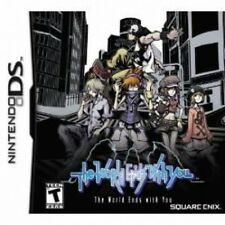 The World Ends With You Game DS Brand New