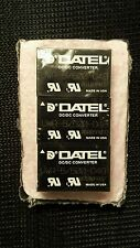 3 NEW Datel Isolated DC-DC Converter UWR-5/500-D48.   IN 9-18VDC/   OUT 5V 500mA