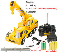 RC Crane Car Truck 4CH Hook Engineering Radio Control Line Toy Wireless Electric