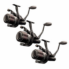 Fox Eos 10000 x 3 Carp Fishing Reels with Baitrunner *Brand New* CRL059