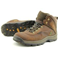 Timberland White Ledge Mid WP Men US 12 Brown Hiking Shoe Pre Owned  1161