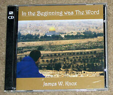 James W Knox In the Beginning was The Word CD 2-Disc Religious