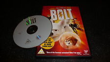 DISNEY BOLT DVD - JOHN TRAVOLTA/MILEY CYRUS - FAST/FREE POST (no. 48 gold spine)