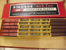 "FOUR HUNDRED !! Simonds 10"" x 1/2"" x 32 Tooth All Hard  HSS Hacksaw Blades"